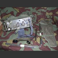 KITPRC77 Ricetrasmettitore spalleggiabile AN/PRC-77 Apparati radio militari