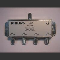PAS1244 SPLITTER 75 oHm PHILIPS  PAS1244 Accessori TV SAT