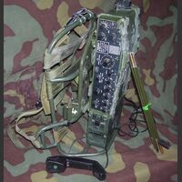 PRC-320 Ricetrasmettitore Manpack in HF PRC-320 Apparati radio militari