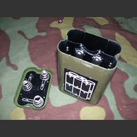 PortaBatterSEM35 Porta Batterie interno per SEM-35 Alimentatori e Carica Batterie