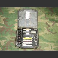 RicSem Scatola ricambi lampade, gemme e fusibili + chiavette tarature per SEM-25 Comandi Vari