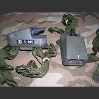 S149 Comando Pettorale con PTT S-149 Microfoni