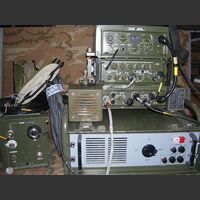 TRSV-9A Stazione radio BLU  HF da base TRSV-9A Apparati radio militari