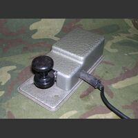 TastoURSS K-64 tasto telegrafico ex Germania est Tasti Telegrafici