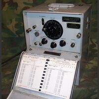 Ts175C Frequency Meter  TS-175C Test e Strumenti di Misura Militari