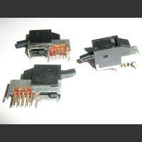 CCC1V3PV Commutatore da circuito stampato  2vie 3 posizioni .Orizzontale Commutatori e Interruttori