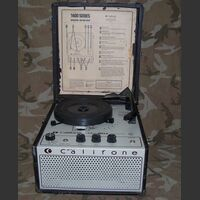 Califone1455 Portable Phonograph CALIFONE mod. 1430 Varie