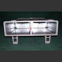 HAMEG8001 HAMEG 8001-2 Main Frame REGISTRATORI - PLOTTER X Y- MONITOR
