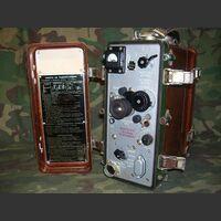 P-109 Ricetrasmettitore R-109 Apparati radio militari