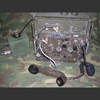 PRC-77BASE Ricetrasmettitore da Base 50W AN/PRC-77 (RT-841) Apparati radio militari