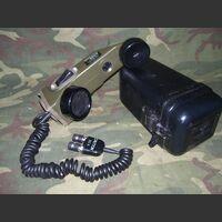 TA1PT Telefono da campo TA-1/PT Apparati radio militari