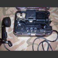 TA57 Telefono da campo RUSSO TA-57 Apparati radio militari