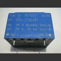 TREI3012.5 Trasformatore Alimentazione 12 Volt  1,5 VA Trasformatori e Filtri Rete