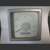 Umin Voltmeter U/min Strumentini