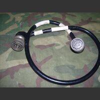 MARCONI 306-0770/01 Cavo alimentazione 220/24 volt MARCONI 306-0770/01 (cm 80) MARCONI 306-0770/02 (cm 140) Accessori per apparati radio Militari