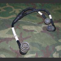 MARCONI 306-0771/02 Cavo alimentazione con uscita separata 220/24 MARCONI 306-0771/02 Accessori per apparati radio Militari