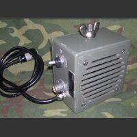 ELMER 3-57784/A Altoparlante  ELMER 3-57784/A con connettore U-228/U Accessori per apparati radio Militari