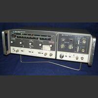 HP 8620C + RF Plug-in HP 86222B Sweep Oscillator  HP 8620C + RF Plug-in HP 86222B Strumenti