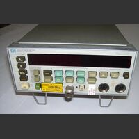 HP438A HP 438A Power Meter MILLIVOLTmeter / POWERmeter / WATTmeter  AF-RF