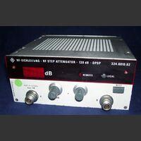 ROHDE e SCWARZ DPSP 334.6010.02 RF Step Attenuator ROHDE & SCWARZ DPSP 334.6010.02 Strumenti