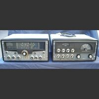 the Hallicrafters  HT-32B + SX-1 Linea RTX the Hallicrafters  HT-32B + SX-101A Apparati radio