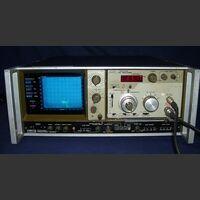 TAKEDA RIKEN  TR 4110 (traking s Analizzatore di Spettro TAKEDA RIKEN TR 4110 (traking scope) + TR 4113A (rf section) Strumenti