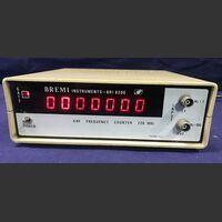 BREMI BRI 8200 VHF Frequency Counter BREMI BRI 8200 Strumenti