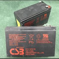 CSB XTV 1272 F2 Batteria ermetica al piombo CSB XTV 1272 F2 12 Volt 7,2 Ah Componenti elettronici