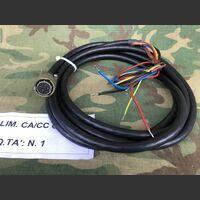 CA/CC CNA Cavo Alimentazione CA/CC CNA Lunghezza 3 mt -nuovo Accessori per apparati radio Militari