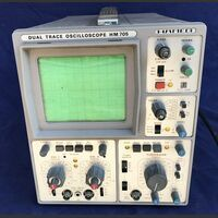 HAMEG HM 705 Oscilloscope HAMEG HM 705 -da revisionare Strumenti