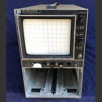 HP 182T Main Frame Oscilloscope HP 182T -non provato Strumenti