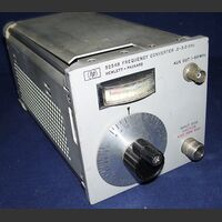 HP 5254B Modulo Frequency Converter 0.2 - 3.0 Ghz HP 5254B Accessori per strumentazione