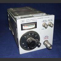 HP 5255A Modulo Frequency Converter  3 - 12,4 Ghz HP 5255A Accessori per strumentazione