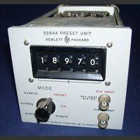 HP 5264A Modulo Preset Unit HP 5264A Accessori per strumentazione
