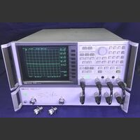 HP 8753C Network Analyzer HP 8753A Con S-Parameter test set HP 85046A Strumenti
