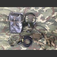 T 45 AN-GSA/6/I Kit Borsa con Cuffia Microfono Labiofano T 45 AN-GSA/6/I Apparati radio militari