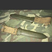 Fodero  per Baionetta Garand M5  Fodero  per Baionetta Garand M5 M8A1 Militaria
