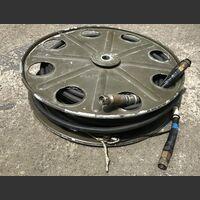 Cable 51451 Avvolgitore in alluminio con cavo antenna Heliax Coaxial Cable 51451 Connettori