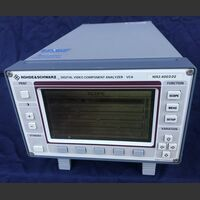 ROHDE & SCHWARZ VCA Digital Video Component Analyzer ROHDE & SCHWARZ VCA Strumenti