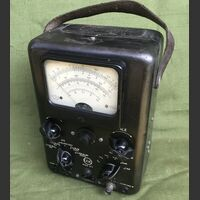 CGE mod. 311 Voltmetro Elettronico CGE mod. 311 -vintage a valvole Accessori per apparati radio Militari