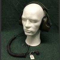 RA-195/1010 Cuffia CLANSMAN Racal RA-195/1010 Accessori per apparati radio Militari