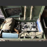 R-107 Ricetrasmettitore R-107 Ricetrasmettitore spalleggiabile di produzione Russa. Apparati radio