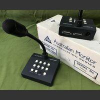 PAGEMENT 88M Microfono da tavolo a 8 zone Australian Monitor PAGEMENT 88M Telecomunicazioni