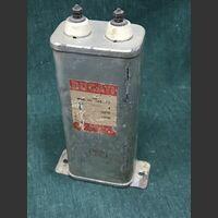 EC 60275 Condensatore Carta Olio DUCATI 4 MF 3000 VDC Componenti elettronici
