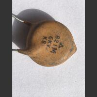 820p6000v Condensatore Ceramico 820 pF 6000 Volt Componenti elettronici