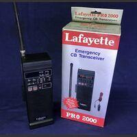 LAFAYTTE PRO 2000 Ricetrasmettitore Portatile LAFAYTTE PRO 2000 Apparati radio