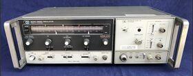 HP 8620C + 86222B Sweep Oscillator HP 8620C + 86222B Strumenti