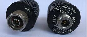 NARDA 768-20 Power Attenuator  NARDA 768-20  Attenuatore passante 20 dB  DC - 11 Ghz 20Watt Accessori per strumentazione