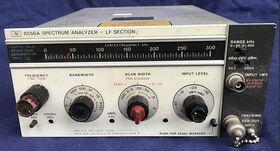 HP 8556A LF SECTION Spectrum Analyzer   HP 8556A Accessori per strumentazione