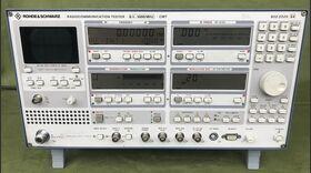 Rohde & Schwarz CMT Radiocommunication Tester Rohde & Schwarz CMT -da revisionare Strumenti